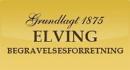 Elving Begravelsesforretning logo