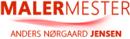 Malermester Anders Nørgaard Jensen logo