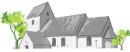 Hans Lund Arkitekt m.a.a. logo