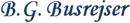 B. G. Busrejser logo