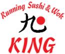 King Running Sushi og Wok logo