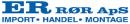 ER RØR ApS logo
