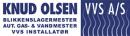 Knud Olsen VVS A/S logo