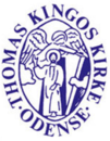 Thomas Kingos Sogns Kirkekontor logo
