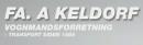 Fa. A. Keldorf Vognmandsforretning logo