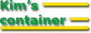 Kims Container logo