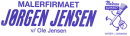 Malerfirmaet Jørgen Jensen/ Ole Jørgen Jensen logo
