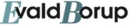 Ejendomsmæglerfirmaet Evald Borup logo