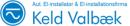 El-installationsfirmaet Keld Valbæk logo