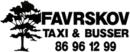 Favrskov Taxi logo