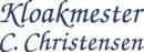 Kloakmester C. Christensen ApS logo