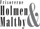 Frisør Holmen & Maltby logo