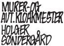 Murer og aut. kloakmester v. Holger Søndergaard logo