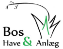 Bos have og anlæg logo