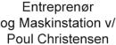 Entreprenør og Maskinstation v/ Poul Christensen logo