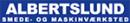 Albertslund Smede & Maskinværksted logo