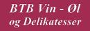 BTB Vin, ROM & Delikatesser logo