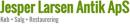 Jesper Larsen Antik logo