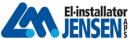 El-installatør L. M. Jensen ApS logo