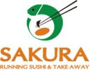 Sakura Running Sushi logo