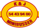 K & J Minibusser - GuldborgsundBusserne logo