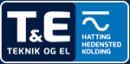 T&E Teknik & El ApS logo