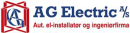 AG Electric A/S - Haderslev afdeling logo