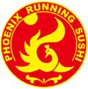 Phoenix Running Sushi logo