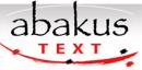 Abakus Text logo