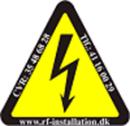 Rf-Installation ApS logo