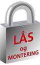 Lås og Montering AS logo