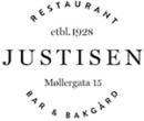 Justisen restaurant, bar og bakgård logo