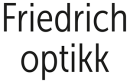 Friedrich Optikk AS logo