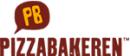 Pizzabakeren Tvedestrand logo