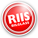 Riis Bilglass Mosjøen (Glassm. J. Eberg Hansen) logo