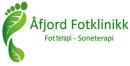 Åfjord Fotklinikk logo
