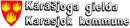 Kárásjoga gielda - Karasjok kommune logo