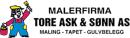 Malerfirma Tore Ask & Sønn AS logo