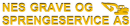 Nes Grave og Sprengeservice AS logo