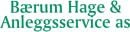 Bærum Hage og Anleggsservice AS logo
