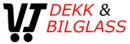 VT Dekk og Bilglass logo