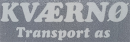 Kværnø Transport AS logo
