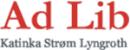 Ad Lib Helse & Utvikling Katinka Strøm Lyngroth logo