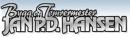 Bygg og Tømrermester Jan P D Hansen logo