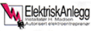 Installatør H Madsen ElektriskAnlegg Tromsø logo