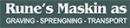 Rune`s Maskin AS logo