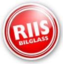 Riis Bilglass Rud logo