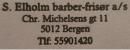 Sigurd Elholm Barber-Frisør AS logo