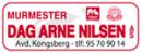 Murmester Dag Arne Nilsen avd. Kongsberg logo