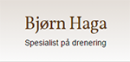 Bjørn Haga Grøfteentreprenør logo